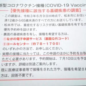 コロナワクチンの接種はどうしたものかと。