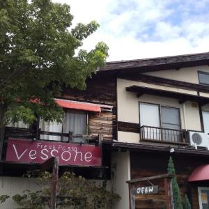 地震と生パスタがおいしかったお店。