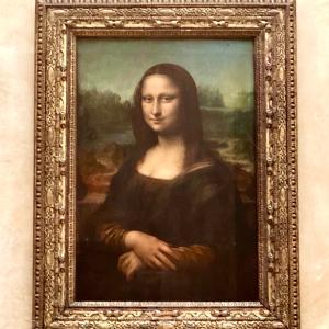フランスの旅⑨「ルーブル美術館3 モナリザ」