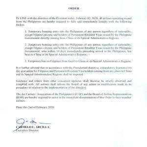 【お知らせ】新型コロナウイルスフィリピンでの対応と各校の対策につきまして