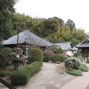 洞雲寺-藤原興藤墓碑
