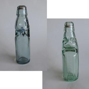 懐かしいラムネ瓶