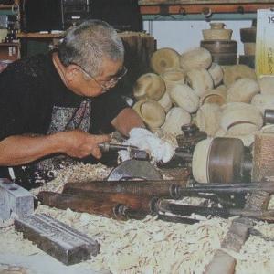廿日市木地屋の挽造活動 ②