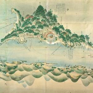 厳島合戦絵図