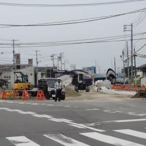 街路畑口寺田線整備工事の今