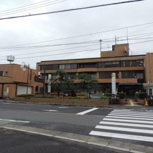 旧津田町役場の玄関礎石