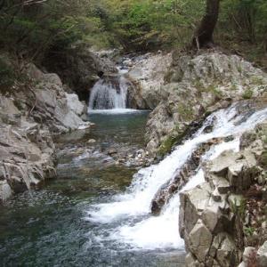 出会いの滝