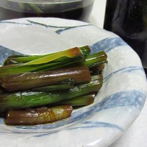 行者にんにくの醤油漬け ~食材は北海道からお取り寄せ~