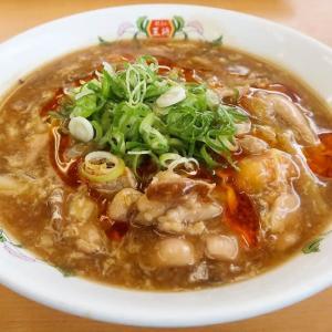 酸辣湯麺(サンラータンメン) ~王将が期間限定と言うので~