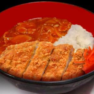 ハヤシライスかつ丼 ~ロールキャベツのソースをリメイク~