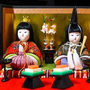 桃の節句 ~木目込み人形と、ばら寿司~