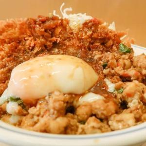 鶏ガパオかつ丼 ~スパイシーなタイ料理との折衷かつ丼~