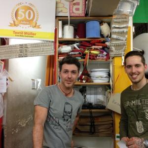 Textil Müller 生地や手芸用品や掘り出し物があるお店