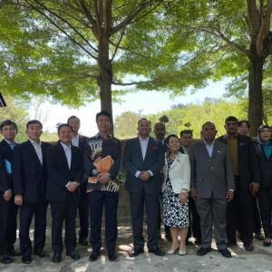 マレーシアのイポー市で姉妹都市30周年記念式典が開催されました。