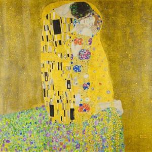Gustav Klimt クリムトの『接吻』ブレンド