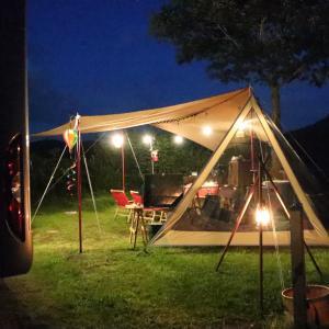 お盆休み中に二回目のキャンプ地