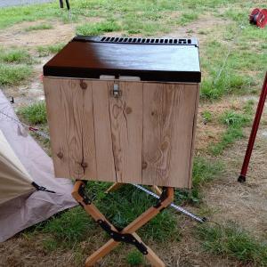今回の夏休みキャンプで役立った物 No2(3way冷蔵庫)