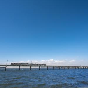 長い長い橋梁 (鹿島線)