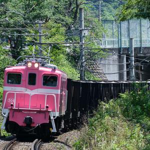 桃色の機関車 (秩父鉄道)