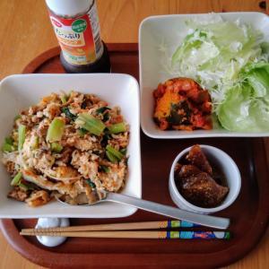 長男の朝ご飯と旨旨韓国料理