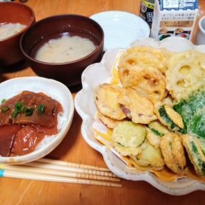 困った時は天ぷらを揚げてました