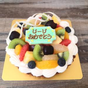 最近のオーダーケーキ