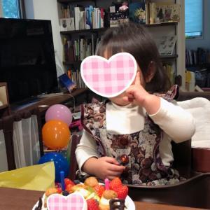 次女 祝2歳!