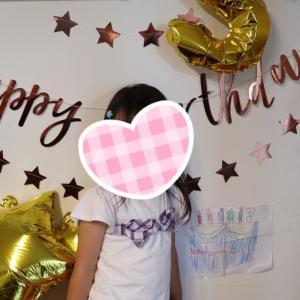 長女 5歳のお誕生日