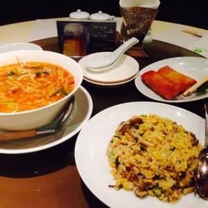 「上海料理 大観苑」で中華な夜ごはん in 鳥取(鳥取駅前・ホテル ニューオータニ)