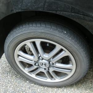 ●やっぱりタイヤはブリヂストン製がイイのだ!N-BOXカスタムのタイヤを『タイヤ館』で買う♪●