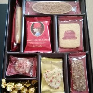 ◆昭和レトロなクッキー缶があまりにも懐かしくて購入♪クッキーも美味な『赤い帽子』◆