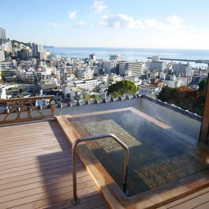 熱海の癒 新かどや 天空露天風呂・大浴場 ②