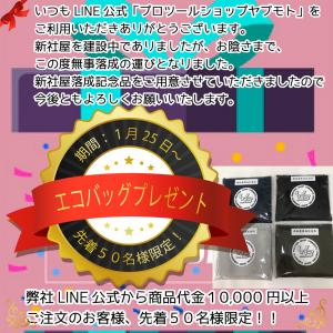 ★LINE公式から1万円以上のご注文でエコバッグプレゼント!