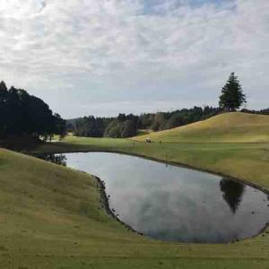ゴルフで季節を実感