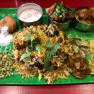 【 インド食堂 ワナッカム 】ビーフビリヤニを満喫。