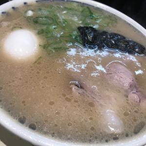 【 中洲川端 きりん 】評判どおりの美味い豚骨ラーメン。