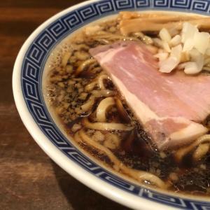 【 麺道はなもこし 】黒くて太い、もこしブラック。