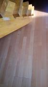 床のリフォーム。