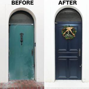ビルをマイホーム化計画*ドアを簡単リフォームで雰囲気チェンジ