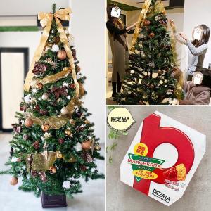 家族でクリスマスツリーの飾り付けとセブイレ限定ピザすぎるお菓子