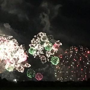 琵琶湖花火大会とGURU GURU
