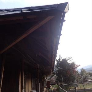 軒天下地・垂木塞ぎをたくさん作る(2019年11月10日)