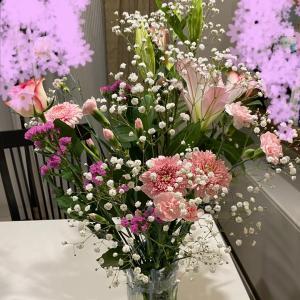 お花に癒される