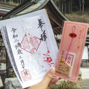 太平山神社さくらまつりの御朱印