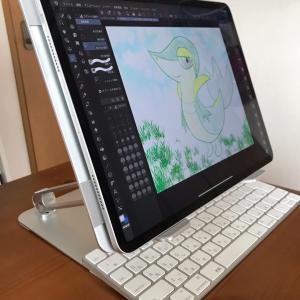絵描きにおすすめのiPadスタンドとタブレットケース!