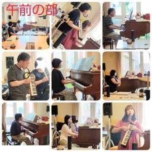 7月ピアノ演奏サークルの様子~次回のお知らせ