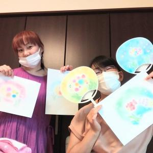 7/31【夏休み親子パステルアート会】です♡