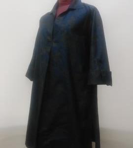 大島紬の着物からチュニック(オーダー)
