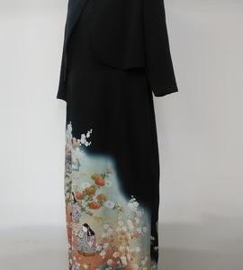 留袖から晴れの日ボレロ付ドレス(オーダー)