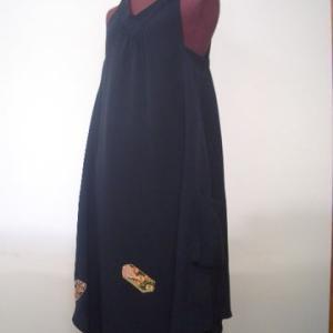 絵羽織からジャンバースカート(オーダー)